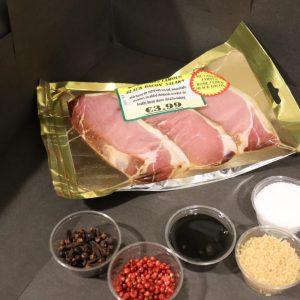 Dry Cured Bacon Steaks